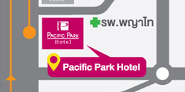 Map of Pacific Park Hotel & Residence
